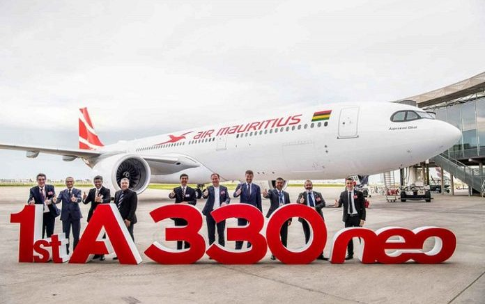 Air Mauritius takes delivery of its first Airbus A330neo jet 1
