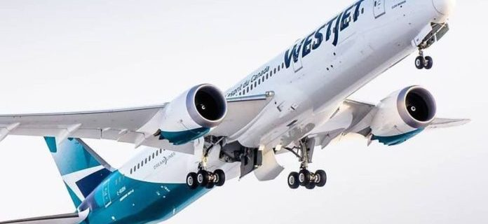 WestJet lands in Portland, Oregon 1