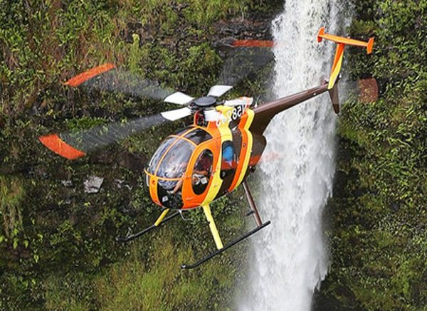 Tour helicopter crash lands in Oahu's Sacred Falls Valley 1