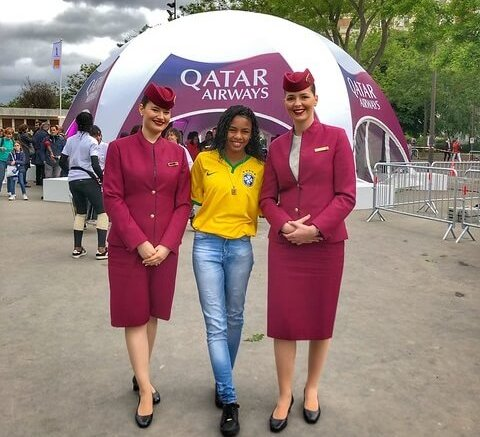 Qatar Airways celebrates opening of FIFA Women's World Cup France 2019 1