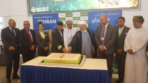 Budget Airline SalamAir Muscat to Tehran is second flight destination to Iran