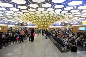 Over 4.5 million passengers pass through Abu Dhabi International Airport during summer