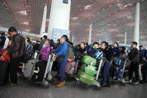Chinese made 12.8 million trips during National Day holiday