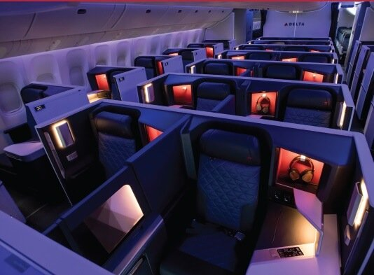 Delta Air Lines rolls out remodeled interiors on key routes 1