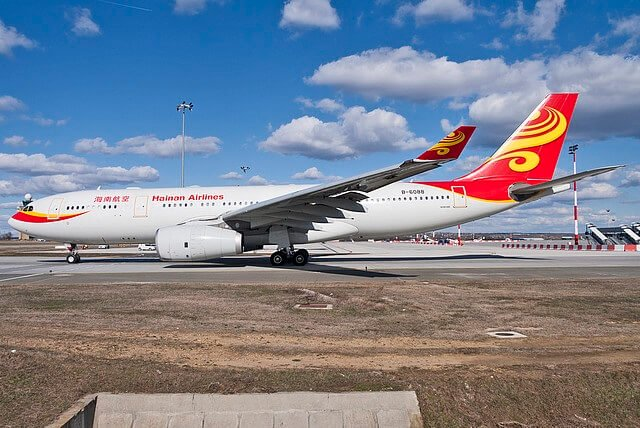 Budapest Airport hails back Hainan Airlines 1