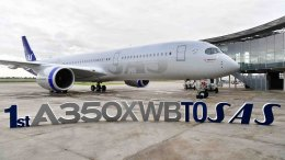 Scandinavia's SAS takes delivery of its first Airbus A350 XWB 28