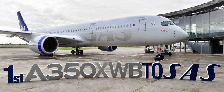 Scandinavia's SAS takes delivery of its first Airbus A350 XWB 11