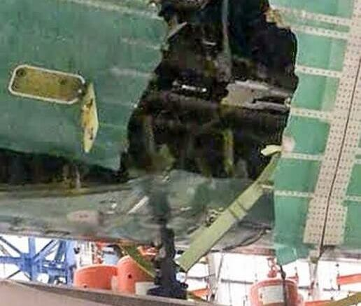 Boeing says it was just 'an issue', reports say 777X test 'tore plane's skin open' 1