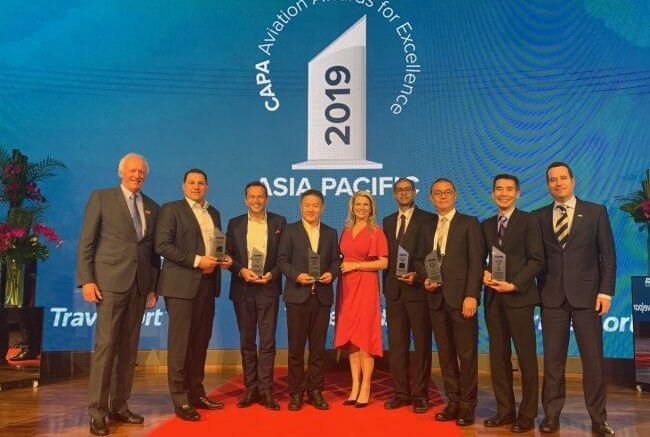Asia Pacific aviation leaders recognized at CAPA event in Singapore 1