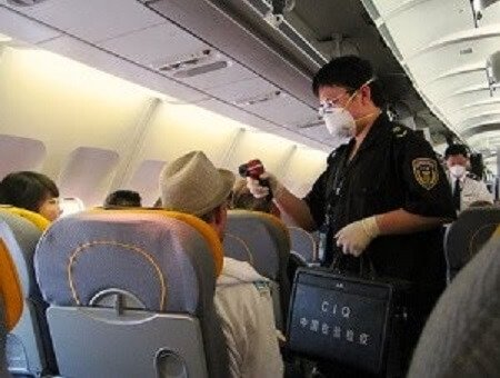 Germs on an airplane: What's the germiest? Nope, not the bathroom. 1