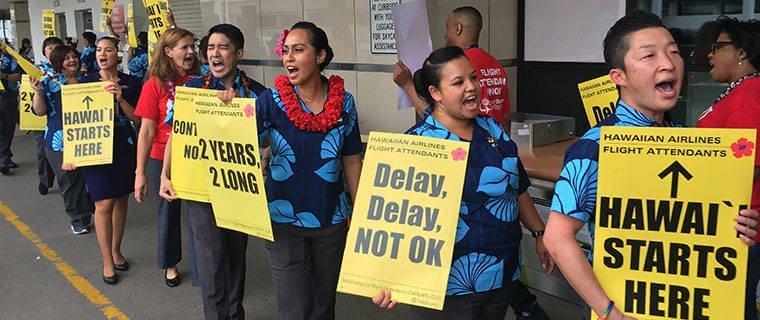 Hawaiian Air cabin crew strike threatens holiday season 11
