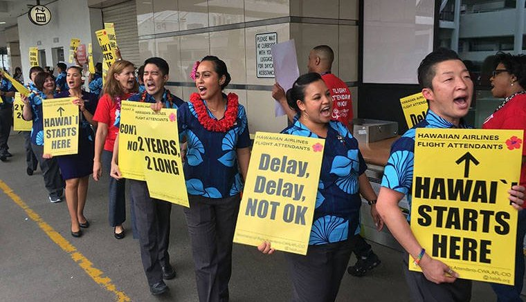 Hawaiian Air cabin crew strike threatens holiday season 1