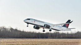 Air Canada takes delivery of its first Airbus A220 jet 44