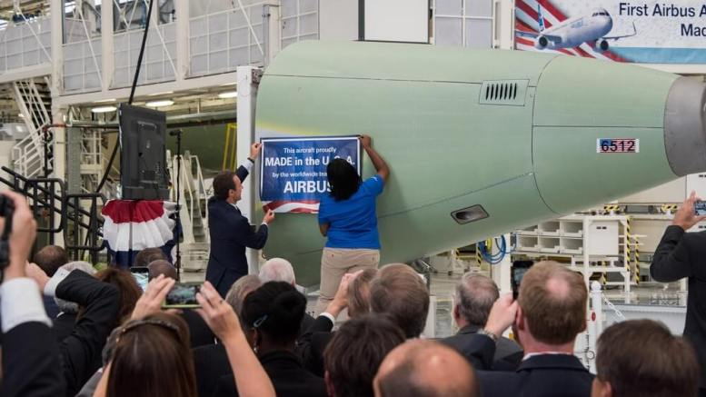Airbus to manufacture more planes in the US 1