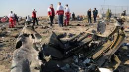 Iran claims Ukraine International Airlines Boeing 'caught fire in flight' 7