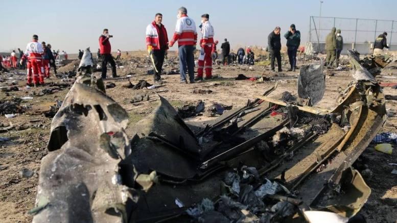 Iran claims Ukraine International Airlines Boeing 'caught fire in flight' 1