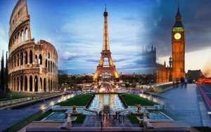Tourist hotspots glimmer in Europe's travel gloom