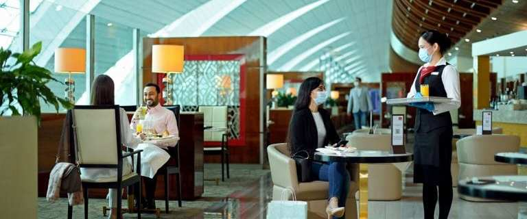 Emirates re-opens worldwide lounges beginning with Cairo 8