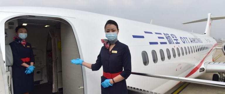 New OTT Airlines makes maiden flight from Shanghai to Beijing 10