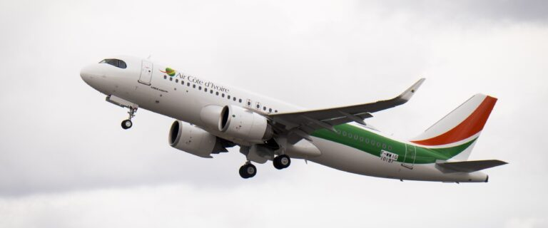 Air Côte d'Ivoire receives its first Airbus A320neo 1