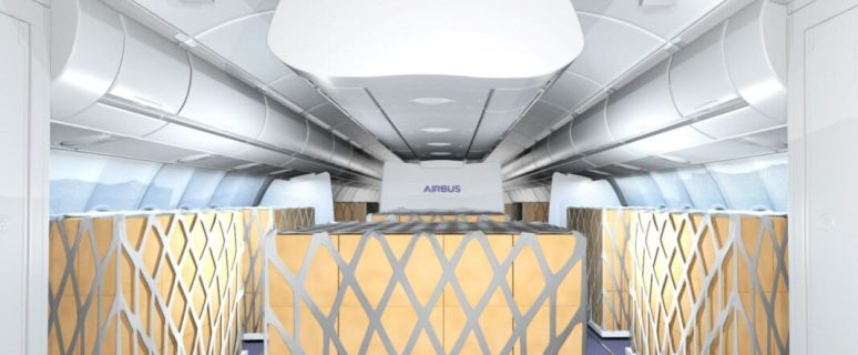 Airbus and Lufthansa Technik offer temporary Cargo in the Cabin solutions 1