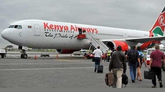 Kenya Airways last London flight 11