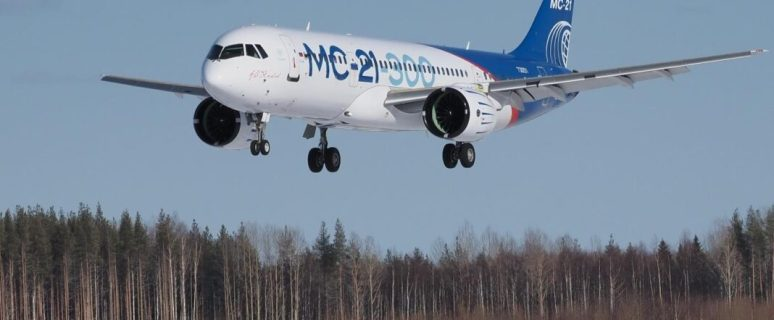 Russia successfully tests first post-Soviet Russian-made large passenger jet 2