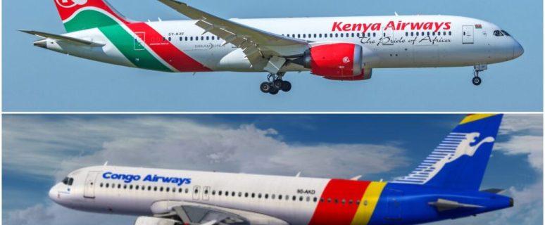Kenya Airways signs codeshare agreement with Congo Airways 1