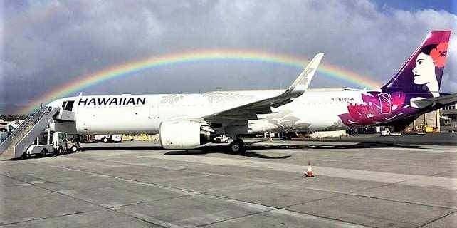 Hawaiian Airlines brings back flights to Tahiti 2