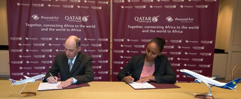 Kigali to Doha nonstop flights now with Qatar Airways and RwandAir new codeshare deal 1