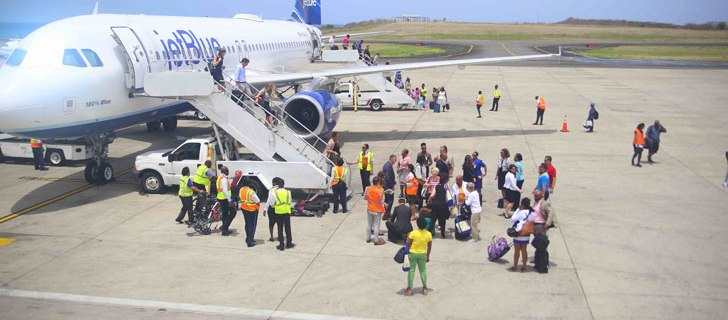 More Grenada flights from USA and Canada now 1