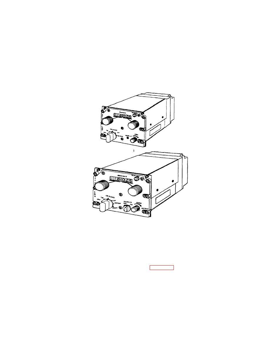 AN/ARC-115A(V)1 and 115C Radio Set