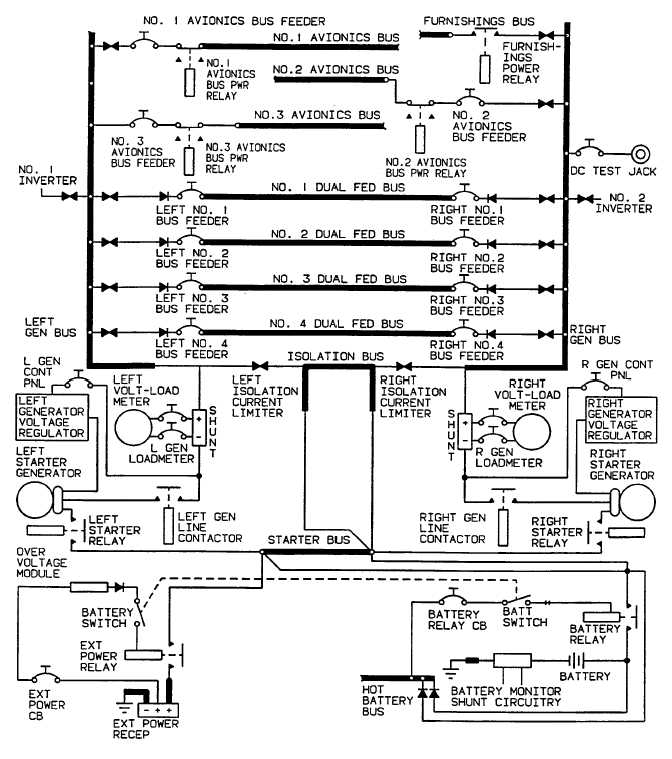 Figure 2-27. DC Electrical System Schematic R