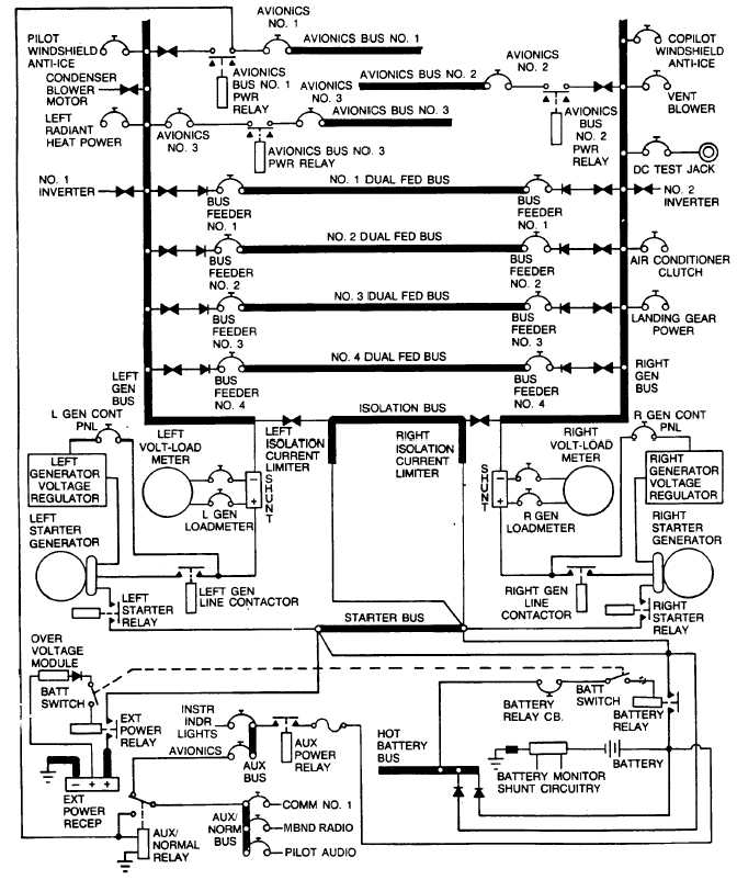 Figure 2-28. DC Electrical System Schematic