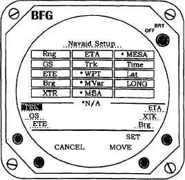 Figure 3B-159. Navaid Setup Select