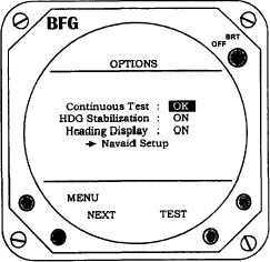 Figure 3C-26. Test Options Mode