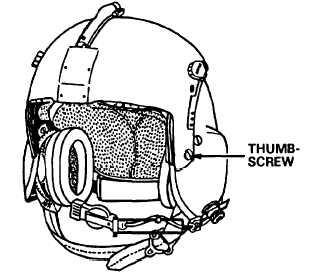 g. Installing V-1 ANVIS mount on dual visor assembly.