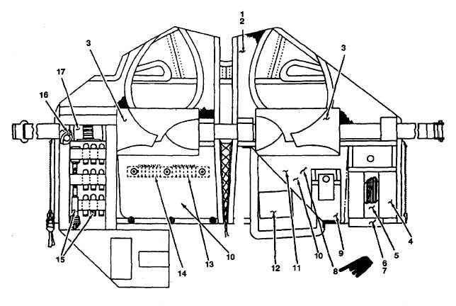 Figure 2-27. OV-1 aircraft survival vest components