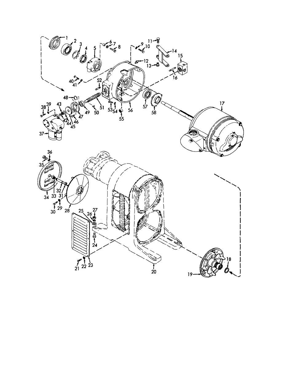 Figure 18. Adapter bracket, electric remote control, and