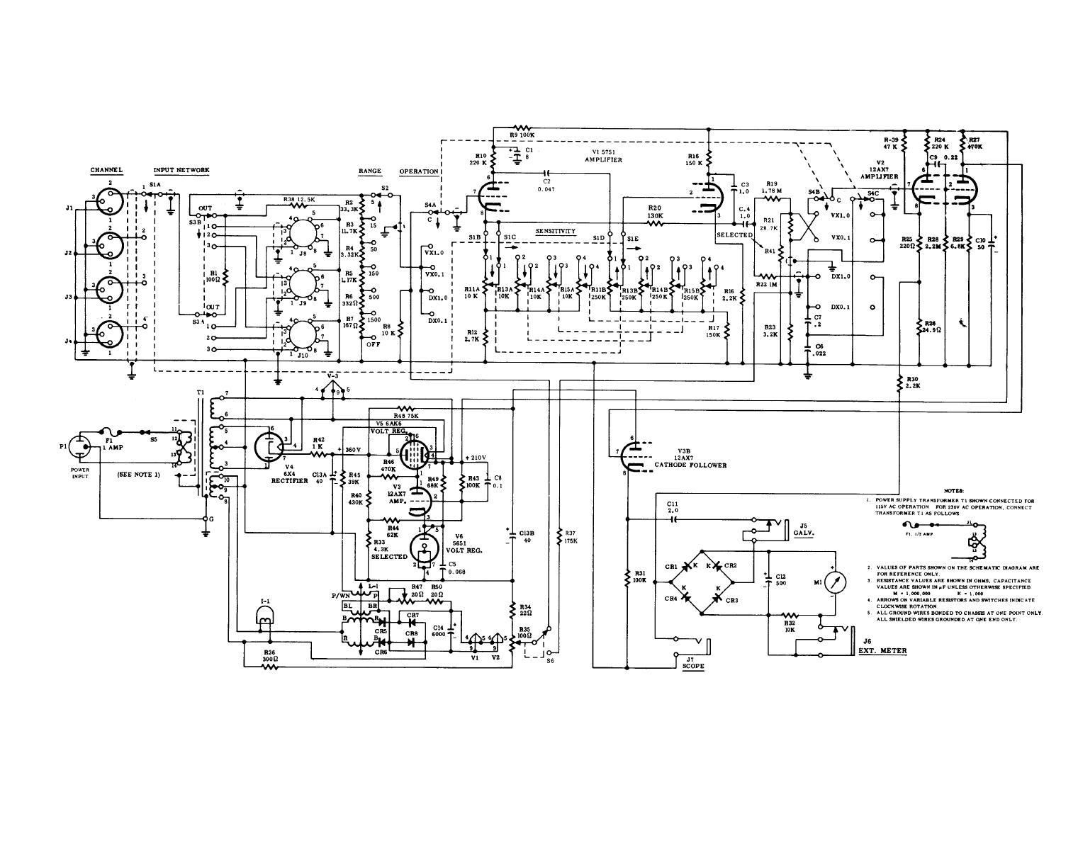 Figure 1 25 Vibration Meter Type 1 117 Schematic