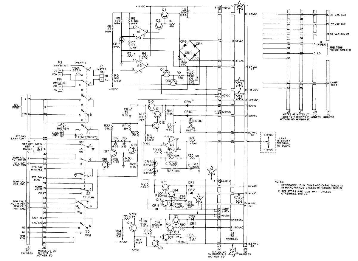 F0-3. Switch-Power Board, BH15720-3, Schematic