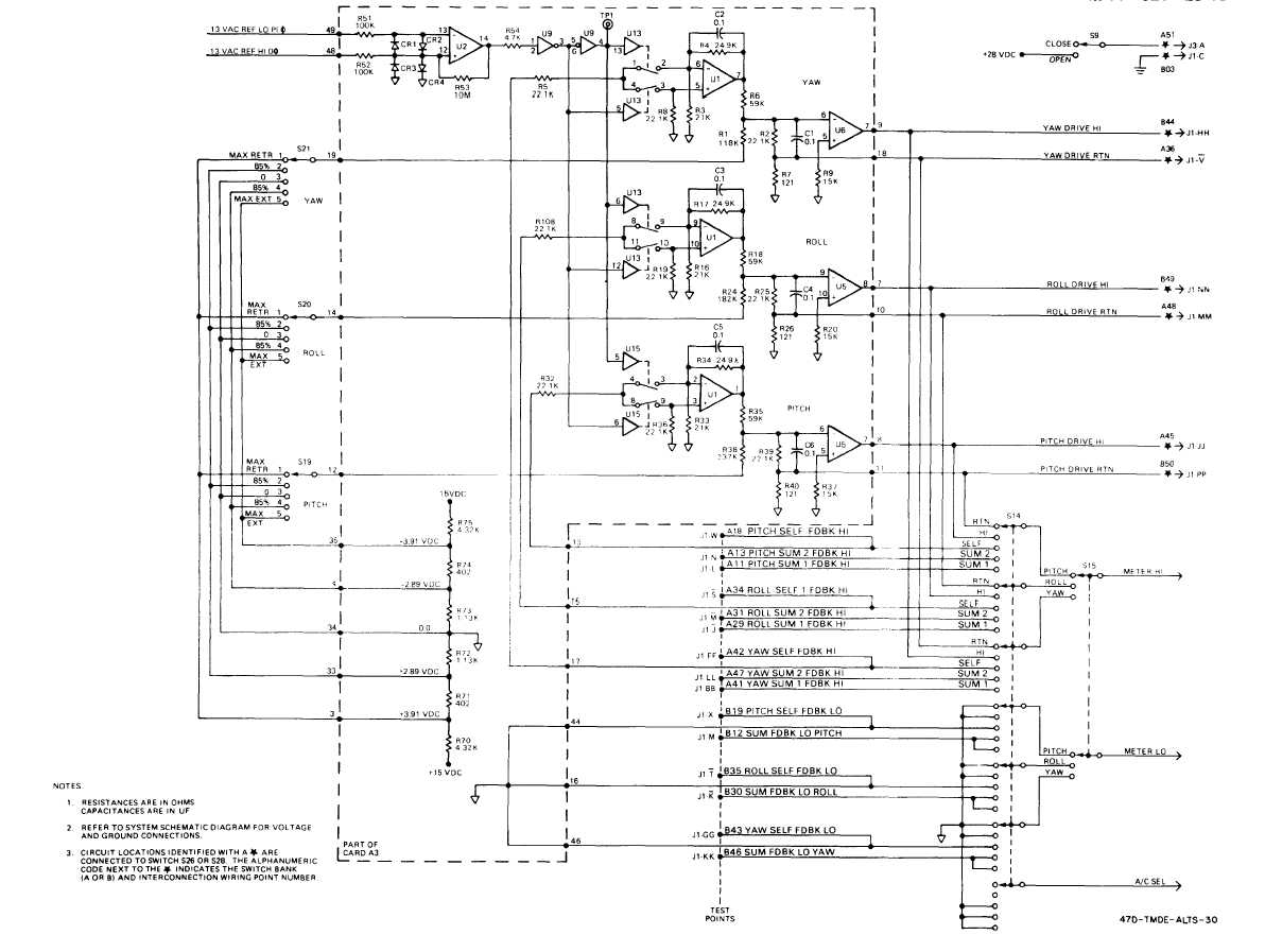 FO-5. Extensible Link Servo-Control Simplified Schematic