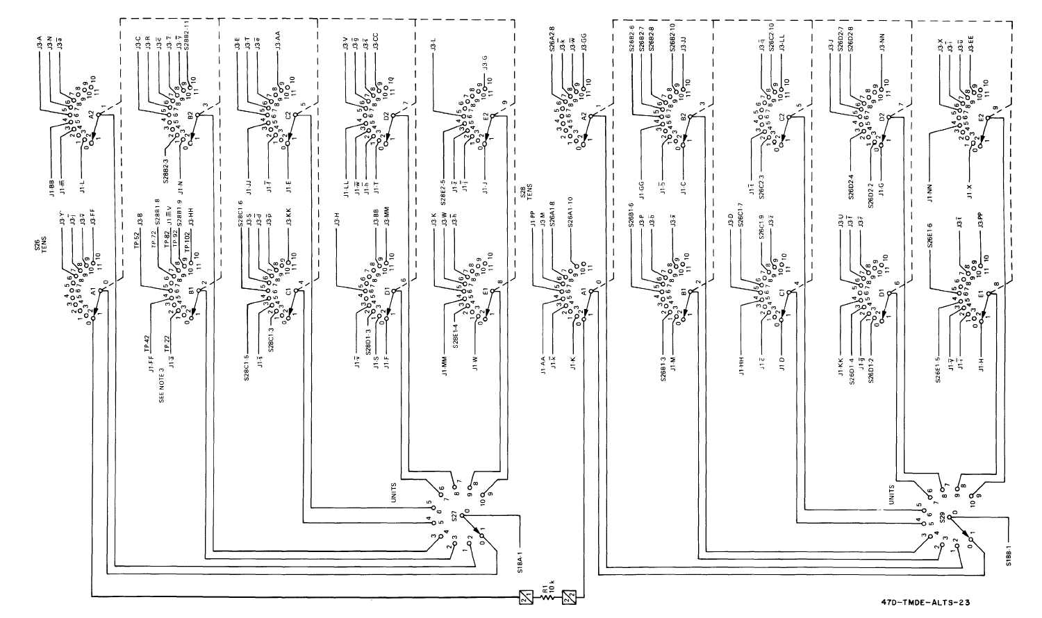 FO-8. AFCS Line Test Set Schematic Diagram (Sheet 2 of 2)
