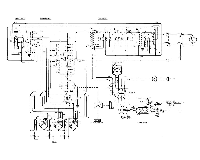 Figure 4 5 Schematic Diagram Model M 1