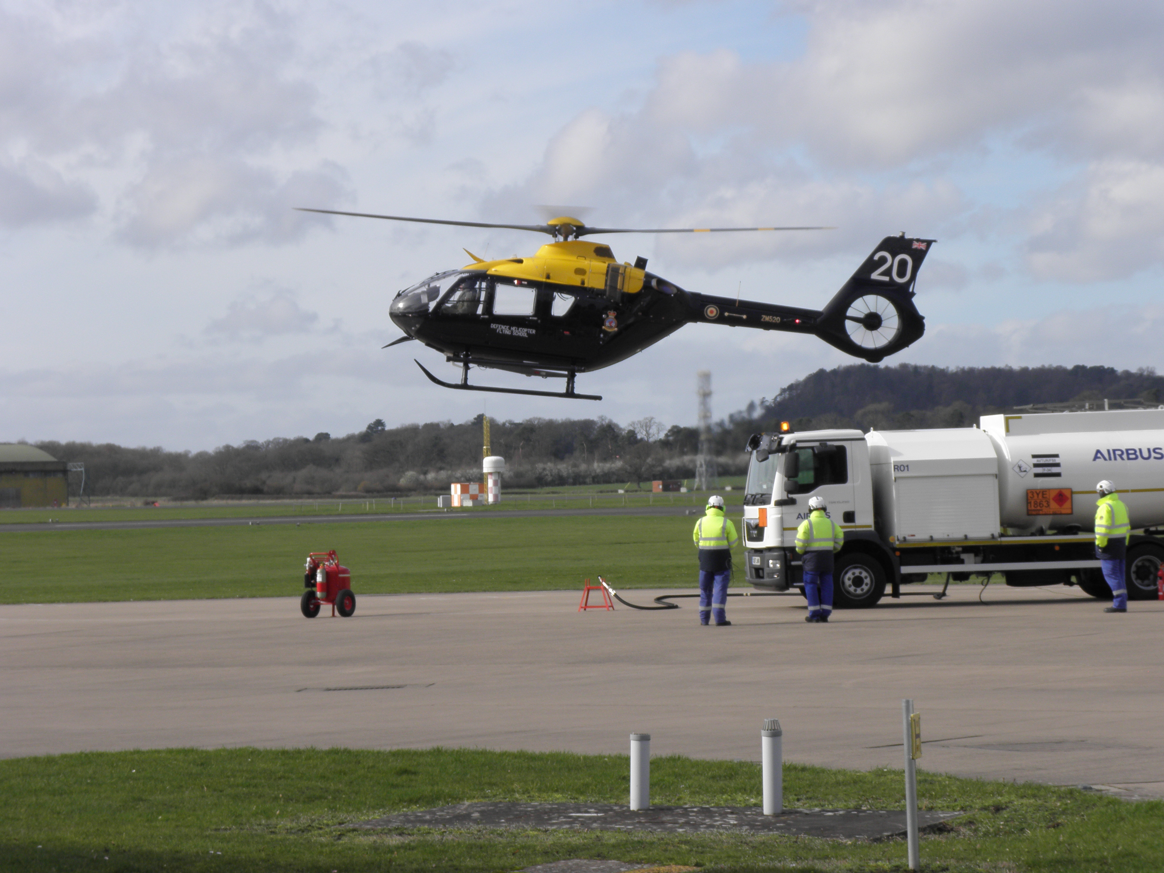 You are currently viewing RAF Shawbury Visit