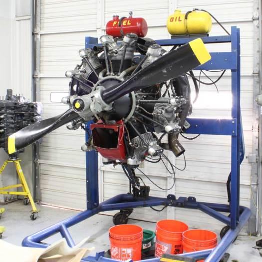 Aviation Institute of Maintenance - Dallas Hangar Engine