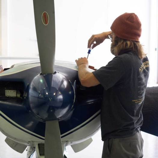 Aviation Institute of Maintenance - Fremont Plane