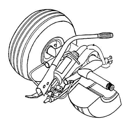 Figure 1-1. Ground Handling Wheels Assembly (Model 204-050
