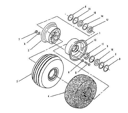 Wheel Assembly Inspection, Model 204-050-200-5 (AVUM)
