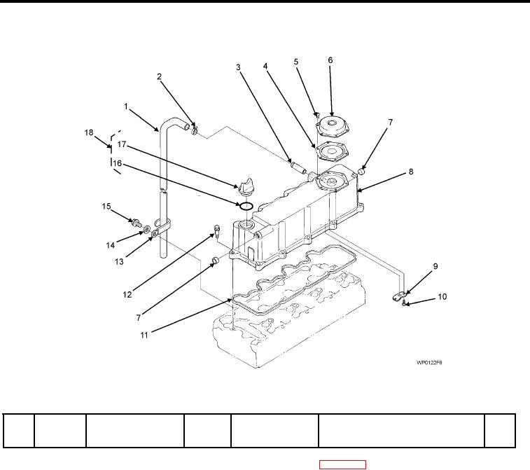 Figure 6. ENGINE HEAD COVER